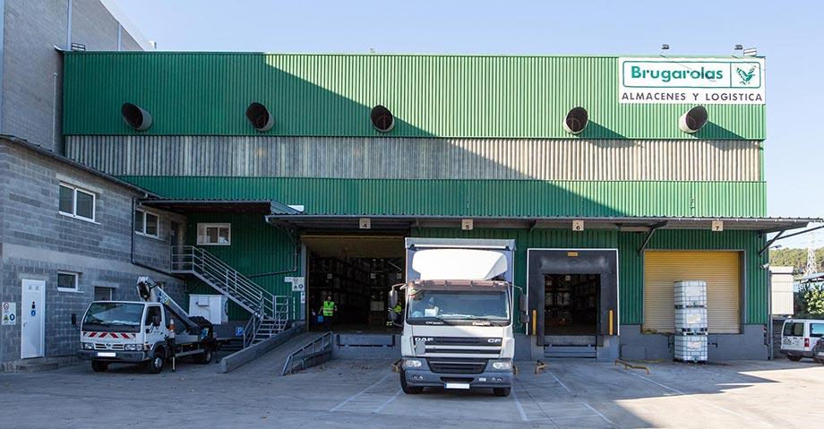 Centro logístico y almacén de Brugarolas
