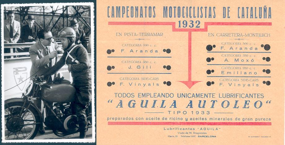 Campeonatos de motociclismo con Aceites Águila
